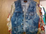 Recycle jean jacket
